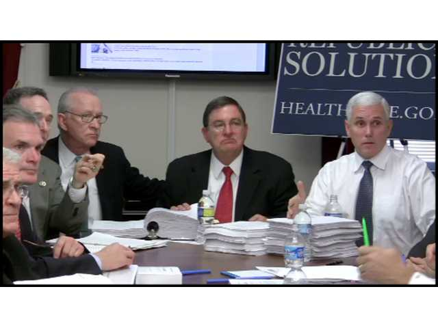 On Wednesday, Congressman McKeon joined other House Republicans in Washington, D.C., as they read through the nearly 2,000-page proposed health care reform bill, weighing in at 19¾ lbs.