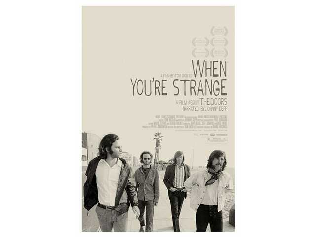 """When You're Strange: A Film About The Doors"" will receive a theatrical release in select markets on Friday, April 9."