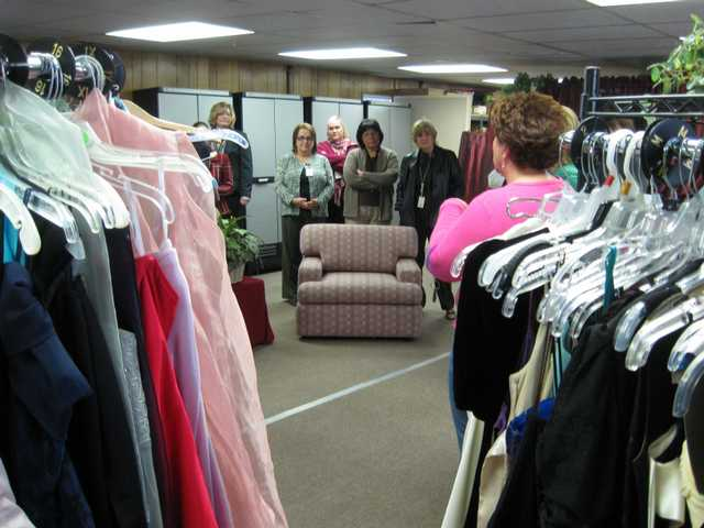 """Project Prom"" boutique opened this week, giving seniors who might not have been able to afford it a chance to purchase prom wear."
