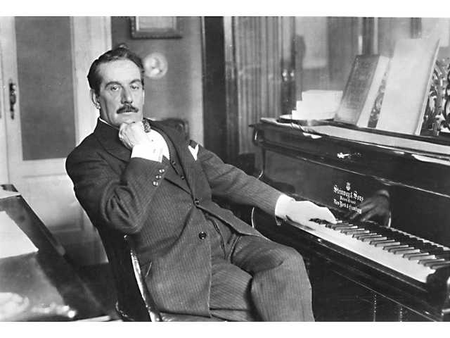 Opera composer Giacomo Puccini was born in Lucca, Italy on Dec. 22, 1858.