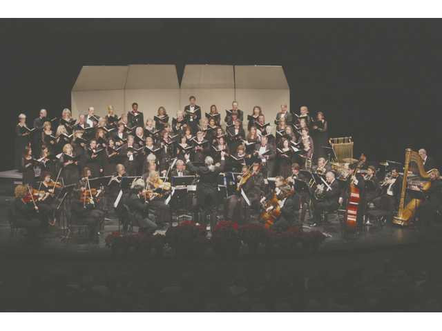 "The Santa Clarita Master Chorale will present two concerts on Saturday. The 3 p.m. family-friendly sing-along ""Holiday Gifts"" will feature a visit from Santa. The 8 p.m. concert ""Be of Good Cheer"" will feature a slate of chorale music."