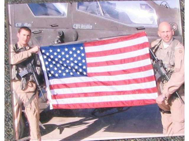 Saugus High School will then be one of the few entities to have an American flag that has flown over both Iraq and Afghanistan during combat operations.
