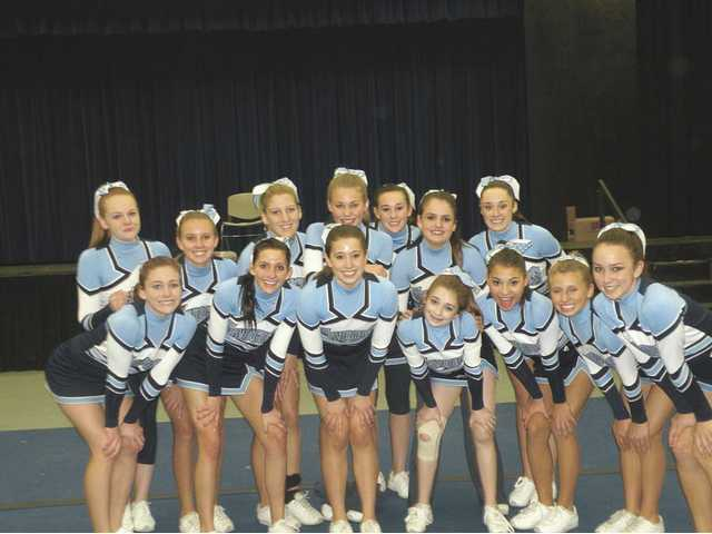 The Saugus High School Competition Cheer Team will compete in Nationals in Anaheim at the end of March. They will host a cheer clinic March 14.