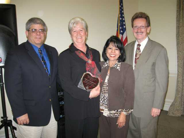Cheryl Pangburn has been named Volunteer of the Year for the Hart district.