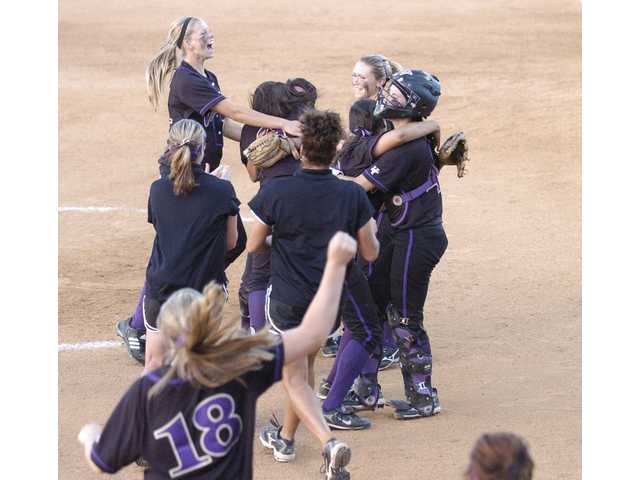 The Valencia Vikings softball team earned their second consecutive CIF-Southern Section Division I Championship title on Saturday at Deanna Manning Field in Irvine. The Vikings defeated the Simi Valley Pioneers who were undefeated prior Saturday's championship game.