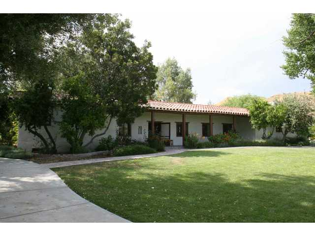 The former home of the Harry Carey family is the centerpiece of Tesoro Adobe Historic Park in Valencia.