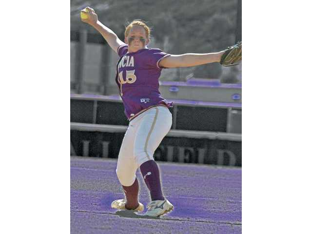 Valencia freshman pitcher Carly Mortensen emerged in 2009 to help the Vikings win another league title with her 17 wins and 1.15 ERA.