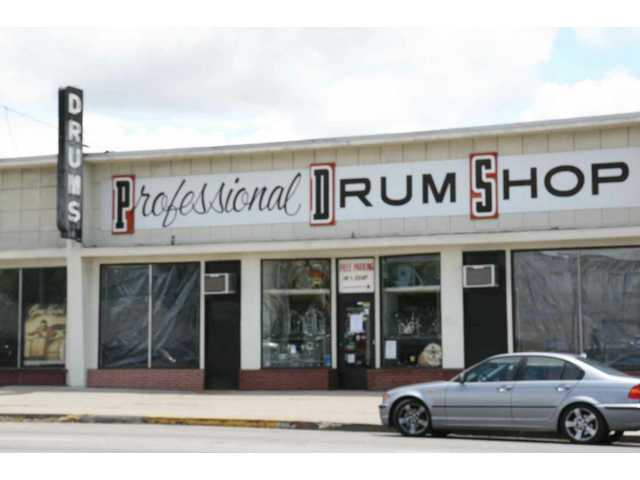 Professional Drum Shop -- same as it ever was at 854 Vine St. in Hollywood for 50 years as of June 1, 2009 -- is co-owned by Stevenson Ranch resident Jerry Keyawa.