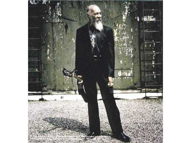 "The back cover of Richie Havens' latest album, ""Nobody Left to Crown."""