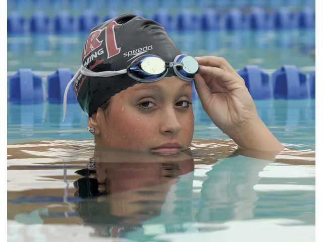 Jordan Danny won All-SCV Girls Swimmer of the Year.