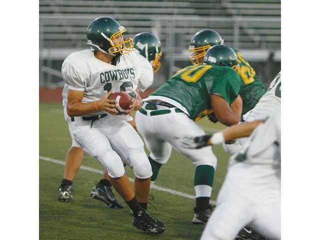 Canyon quarterback Jordan Adamczyk will be relied upon to guide the Cowboys past a Bakersfield club that went 13-1 and won a CIF Central Section championship last season.