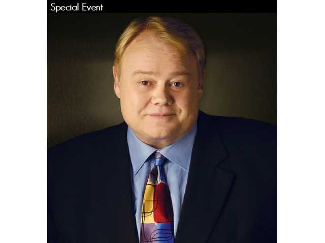 Emmy-winning comedian Louie Anderson gets larger than life in Santa Clarita Wednesday, March 11 at the Santa Clarita Performing Arts Center at College of the Canyons, as the AT&T Champions Classic golf tournament gets rolling at nearby Valencia Country Club.