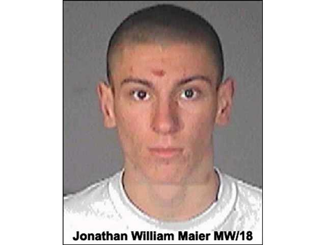 SCV Sheriff's detectives seek Jonathan William Maier, 18, of Canyon Country, as prime suspect in a burglary case. Call (661) 255-1121 if you know his location.