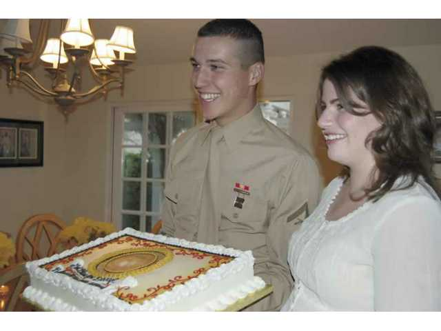 Local Marine headed for Afghanistan