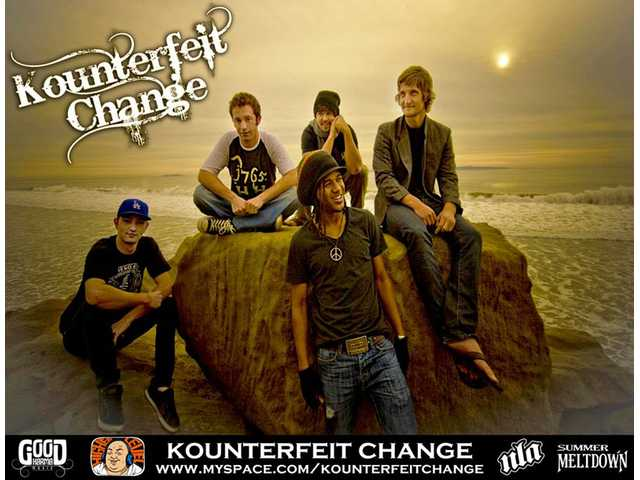 Kounterfeit Change rocks our world from 4:30 p.m. to 5 p.m.