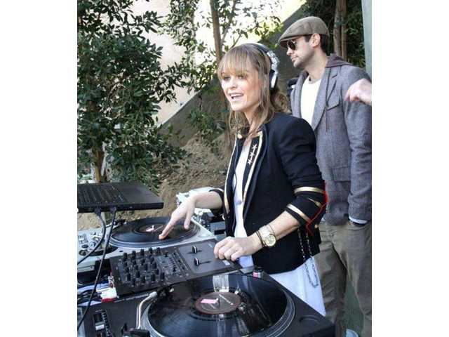 The multi-talented DJ Taryn Manning performs from 5:15 p.m. to 5:45 p.m.
