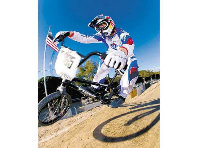 Mike Day, a graduate of Valencia High School  earned a trip to the Beijing Olympics in August as a member of the first-time Olympic sport of BMX Racing.