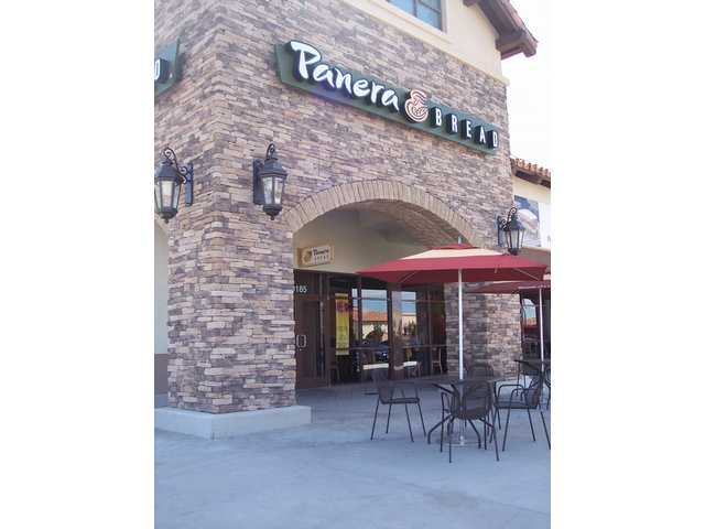 Panera Bread recently opened a second location in the Santa Clarita Valley in the Golden Valley center off Golden Valley Road.