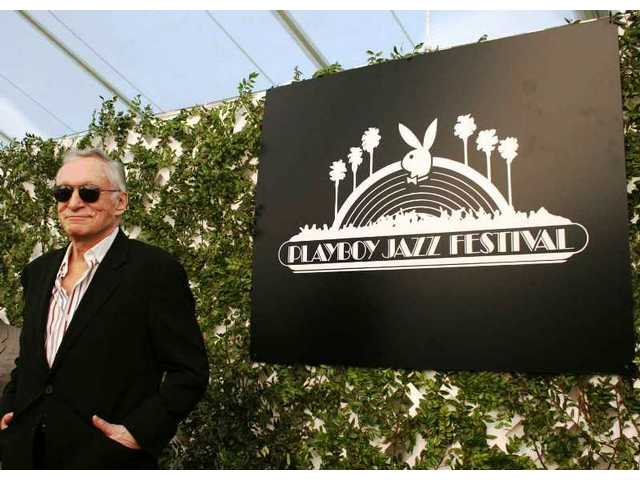 Hugh Hefner: Playboy Jazz Festival founder and executive producer for 31 years.