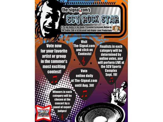 Side 2 of the latest SCV Rock Star flyer!