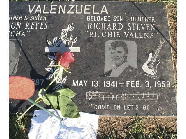 """When Valens died while on tour 50 years ago Tuesday alongside rock 'n' roll legend Buddy Holly and """"Chantilly Lace"""" singer J.P. """"The Big Bopper"""" Richardson, much of the Cold War-era adult world failed to take notice.But hismusic made a lasting impression on a generation of teenagers -- among them John Lennon and Paul McCartney."""