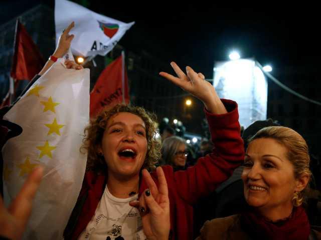 Greek radical left wins election, threatening market turmoil