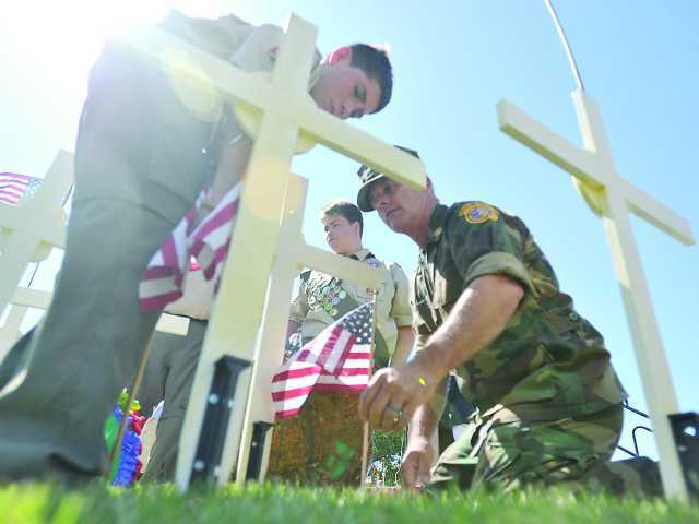 <p><span>Organized by the Santa Clarita Valley Veterans Memorial Committee and Eternal Valley, the ceremony Monday morning will honor the American servicemen and women who served their country.</span></p>