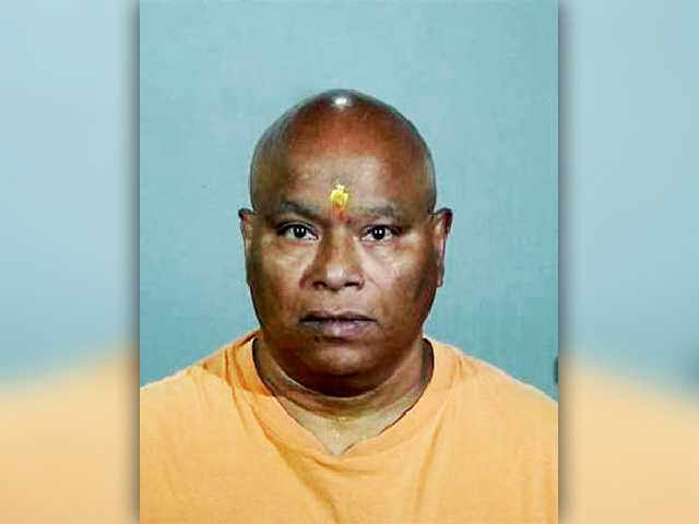 <p>Gokula Nanda, 62, is charged with nine counts of sexual battery, sexual battery by fraud and sexual penetration by fraud. Photo courtesy of Torrance Police Department</p>
