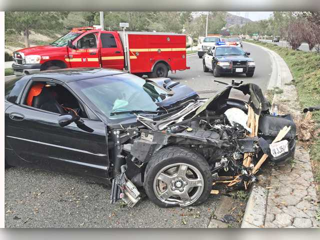 <p><span>Seven people involved in a four-vehicle crash Thursday morning on Golden Valley Road in Canyon Country were transported to hospitals with moderate to minor injuries</span>.</p>