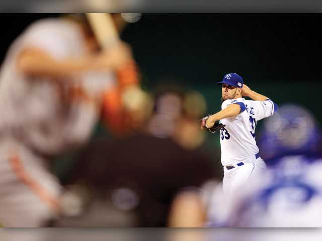 Royals drop World Series Game 1 to Giants