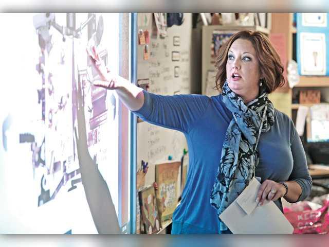 Castaic teacher named county Teacher of Year