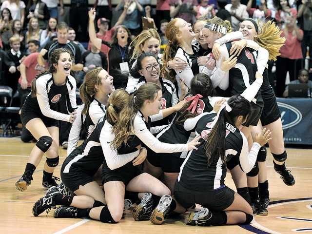 SCCS wins SCV's first CIF girls volleyball title