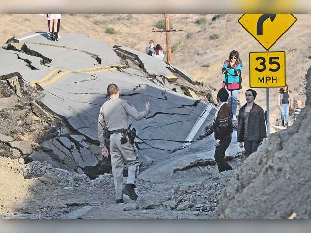 <p>The head-scratching phase for fixing Santa Clarita Valley's road that keeps moving is far from over, according to geologists assessing the undulating land under Vasquez Canyon Road.</p>