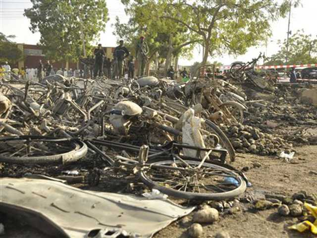 Police: Blasts at mosque in Nigeria kill 35 people