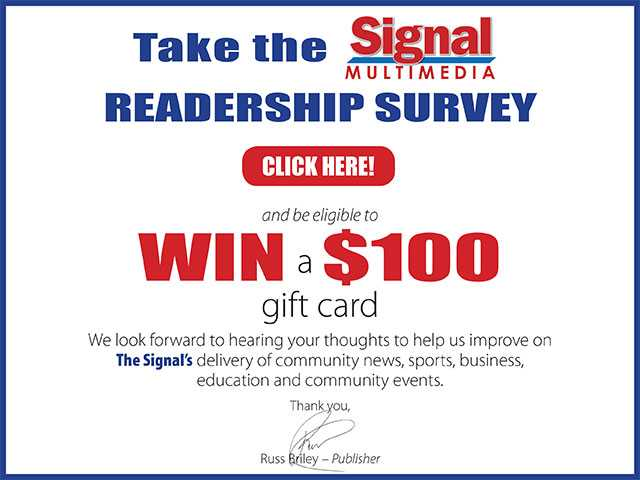 Take this Signal Multimedia survey and be eligible to WIN a $100. Gift Card!