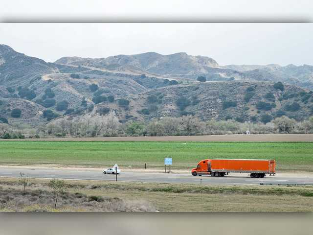 <p>The site proposed for Newhall Ranch as seen across Highway 126 from the southwest. Signal file photo</p>