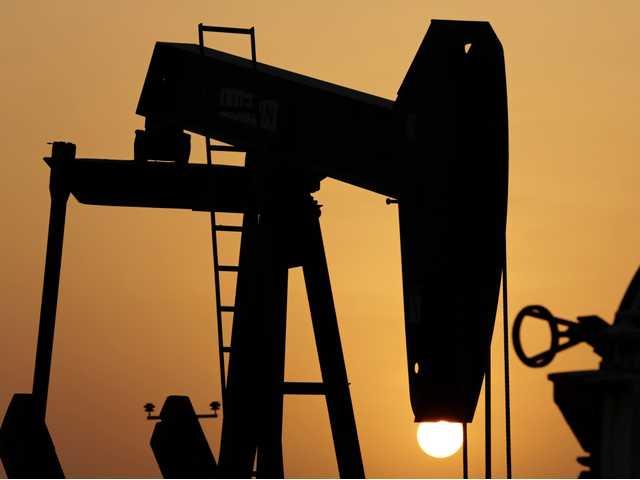 Oil near its low for the year despite turmoil