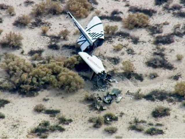 UPDATE: Space tourism rocket explodes in desert