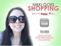 Nikki Goes Shopping: Nikki Phillippi Shops for Her Spring Favorites