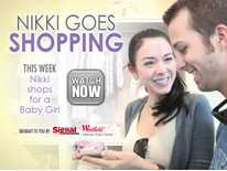 Nikki Goes Shopping: Nikki Phillippi Shops for A Baby Girl