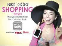 Nikki Goes Shopping: Nikki Phillippi Shops for Summer Styles