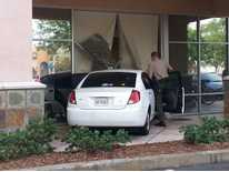 Signal News Now: Car Crashes Into Library