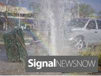 Signal News Now: Line Break Shuts Water Off