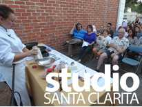 Studio Santa Clarita: Volunteers Give Back to Veterans  ; Chocolate Art Slam
