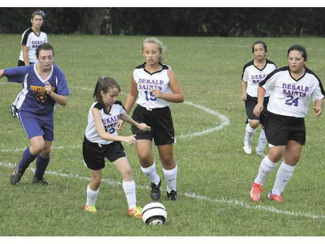 DMS Lady Saints get  first ever victory