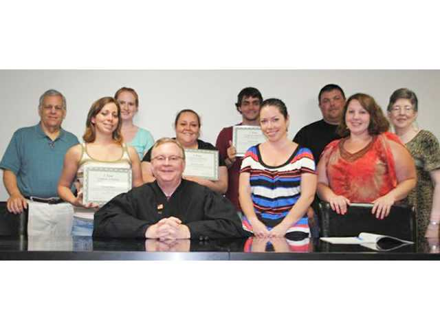 Drug court holds special celebration