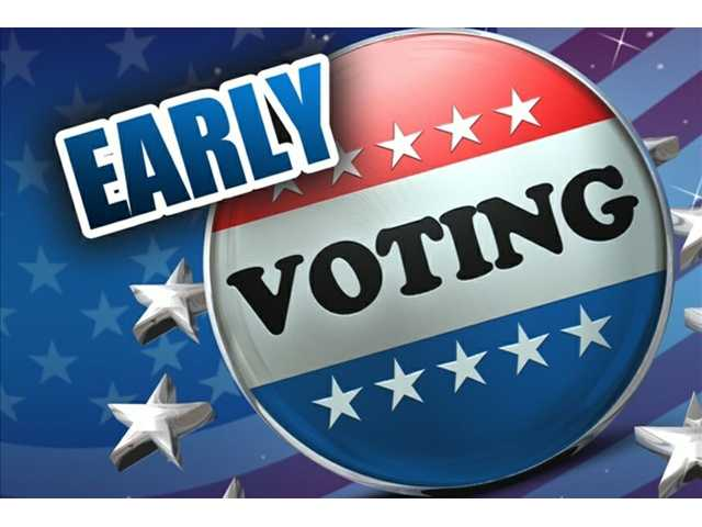 Early voting announced