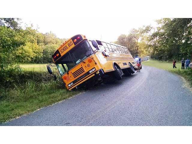 No injuries in bus crash