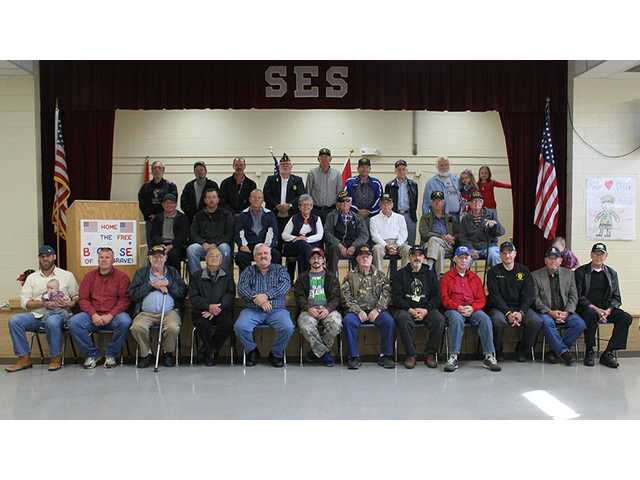 SES honors vets
