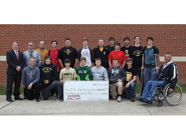 Wilson Bank & Trust goes to bat for DCHS baseball